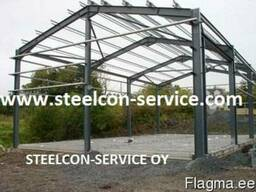 Building steel construction - photo 2
