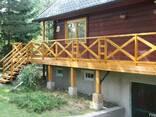 Изготовления деревянных балконов - фото 2