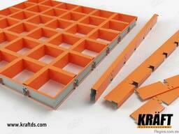 Подвесные потолки грильято от производителя (Украина)