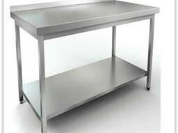 Столы, моечные ванны металлические // нержавеющей стали