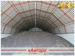 Ангары арочные, склады, цеха, зернохранилища ширина от 8м до - фото 2