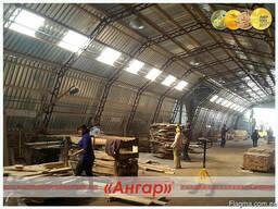 Ангары /цеха для обработки/склады под деревообработку - фото 4