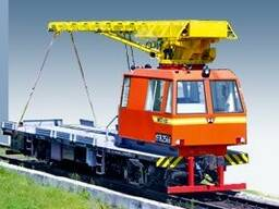 Craned track maintenance vehicle MPT- 6