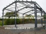 Frame steel halls, welded steel construction - photo 3