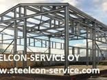 Frame steel halls, welded steel construction - photo 4
