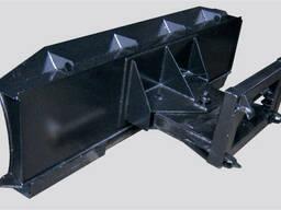 Поворотный бульдозер для фронтальных погрузчиков