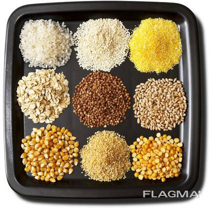 Кукурузные крупы в асортименте