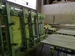 Мебельный щит из дуба (цельноламельный) - фото 2
