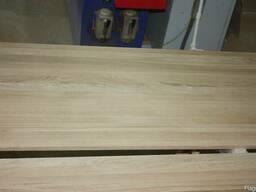 Мебельный щит из дуба (цельноламельный) - фото 3
