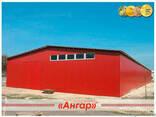 Продажа быстромонтируемых зданий из металла, ангаров ширина - фото 3