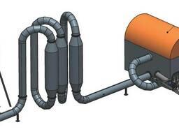 Сушильные комплексы КС (300, 600 кг/ч). Сушка опилок. Сушилка