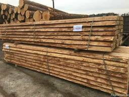 Unedged sawn timber, pine - photo 4