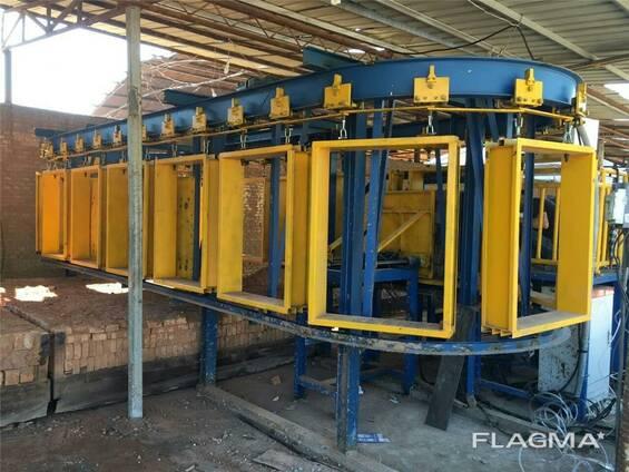 Упаковочная машина кирпич завод